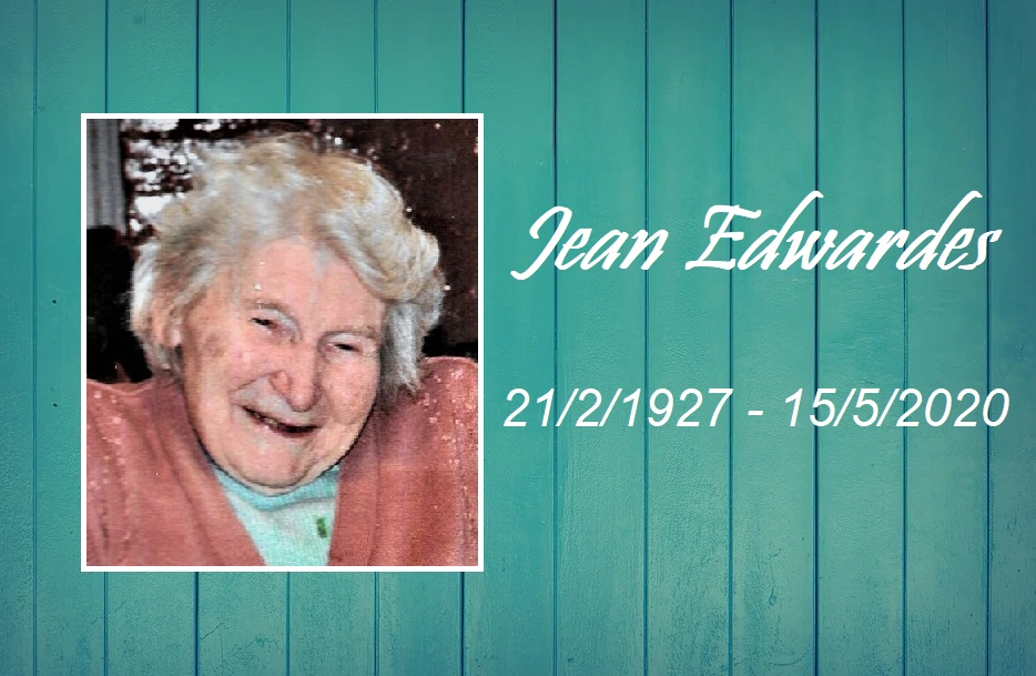 Tribute to Jean Edwardes