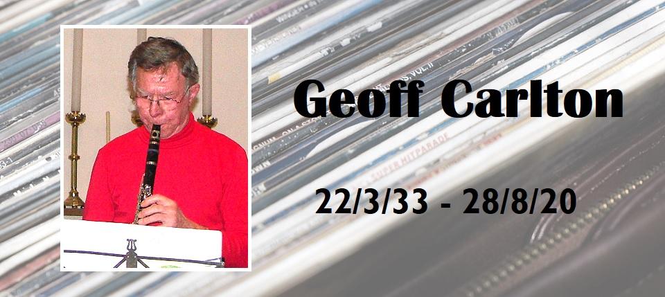 Tribute to Geoff Carlton