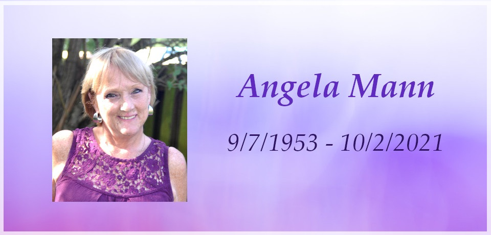 Tribute to Angela Mann