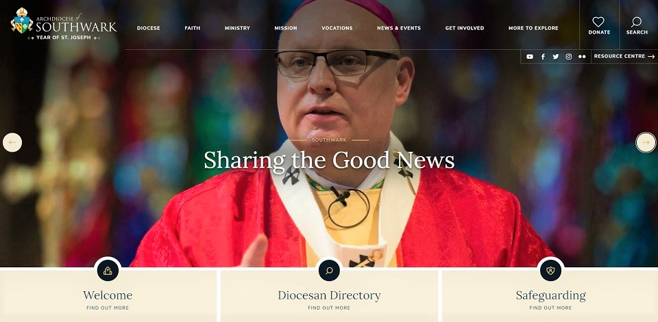 New Website for the Diocese